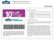 10% OFF Lowes Save Up2 $500 Email-Uprint Click 4BULK PRICE 10/15