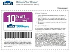 $ 10% OFF Lowes UprintA Save Up2 $500 Email BULK PRICEING 10/30
