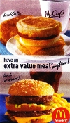 $ McDonalds FREE Xtra Value Meal / Drink Voucher No Exp