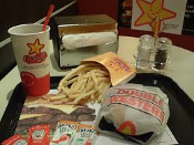$ Carl's Jr / Hardee's FREE Combo Meal Voucher NO EXP Click4BULK