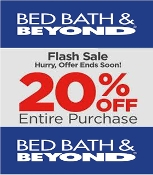 Bed Bath & Beyond Emailed 20% off Entire Receipt Use INSTORE