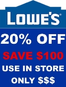 $ 20% OFF Lowes UprintG (Save up to $100) Emailed Use in Store
