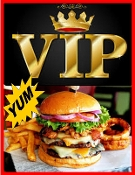 $ VIP BURGER Combo Meal Voucher NO EXP Click for BULK Pricing